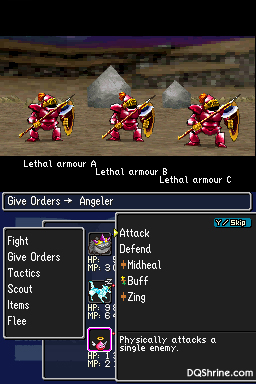 Dragon Quest Monsters Joker Everything else is just basic armor that doesn't effect anything. dqshrine